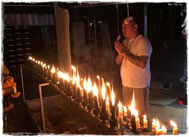 Tian In Gaew Riak Jidt (In KooYintong) Candle magic Love spell for  enchantment